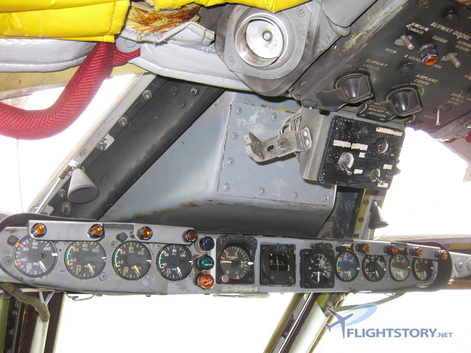 Boeing B-52 Stratofortress Cockpit Eyebrow Panel