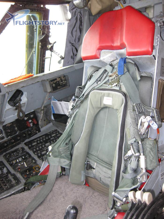Boeing B-52 Stratofortress Cockpit Seat