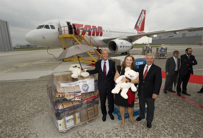TAM 4000th A320 Family Aircraft