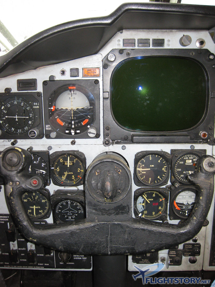Boeing B-52 Stratofortress Cockpit Pilot Seat Panel