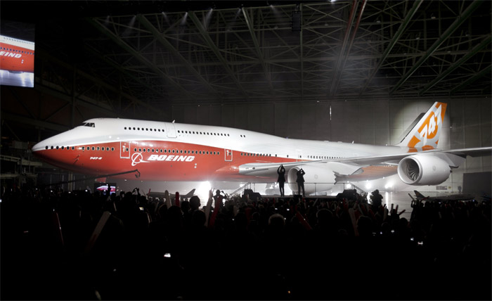 Boeing 747-8 Intercontinental Premiere