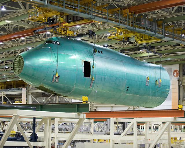 Boeing 747-8 Freighter Fuselage