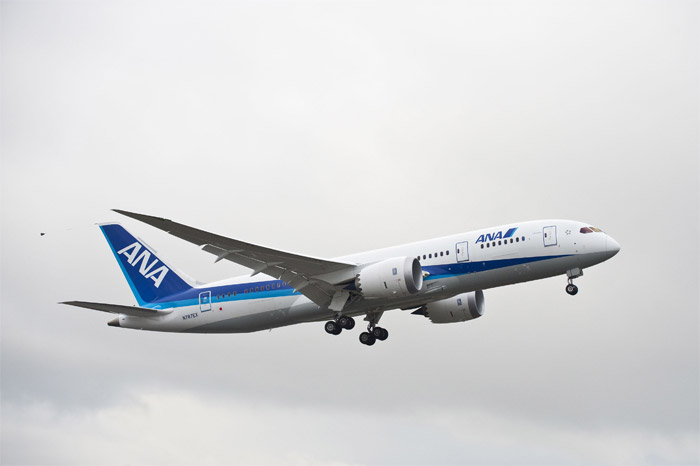 Boeing 787 Dreamliner ZA002 ANA (All Nippon Airways) Livery