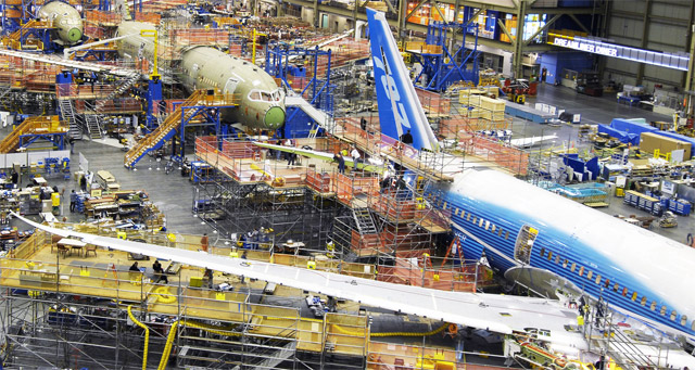 Boeing 787 Dreamliner Production Update
