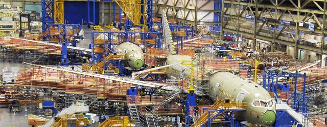 Boeing 787 Dreamliner Production Progress
