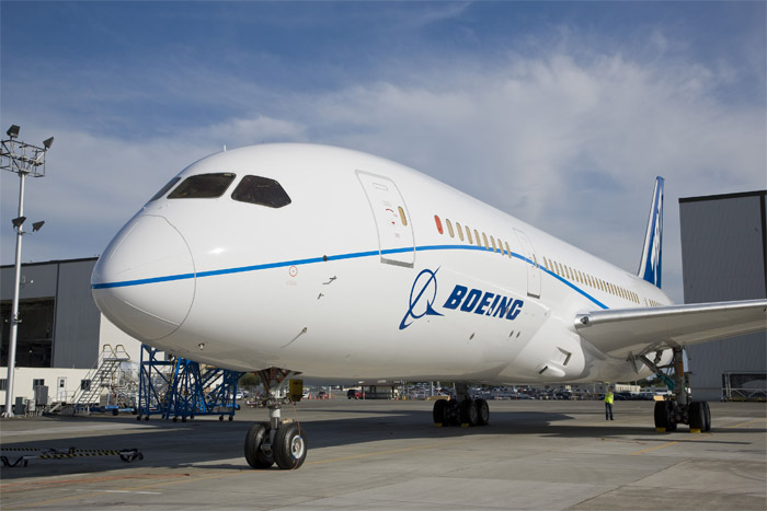 Boeing 787 Dreamliner Painted in Special Livery