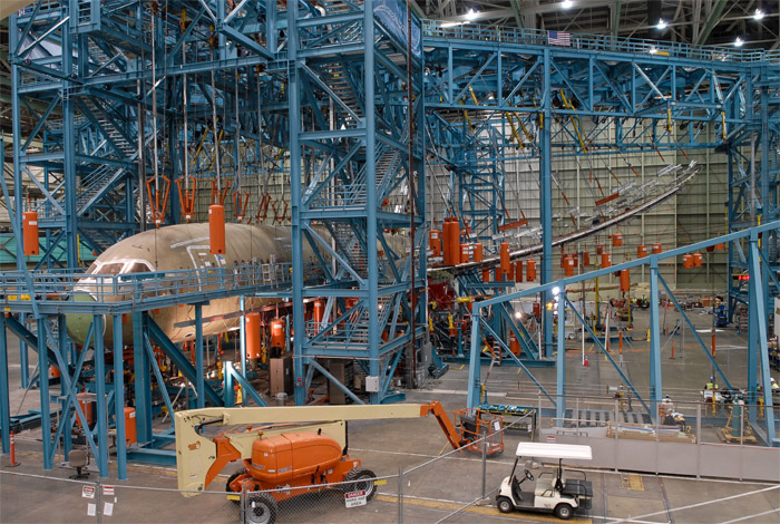 Boeing 787 Dreamliner Structural Tests - Wing Load