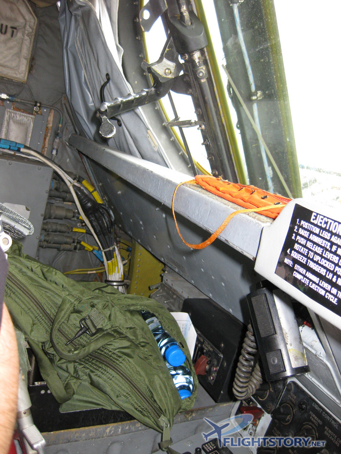 Boeing B-52 Stratofortress Cockpit Left Side