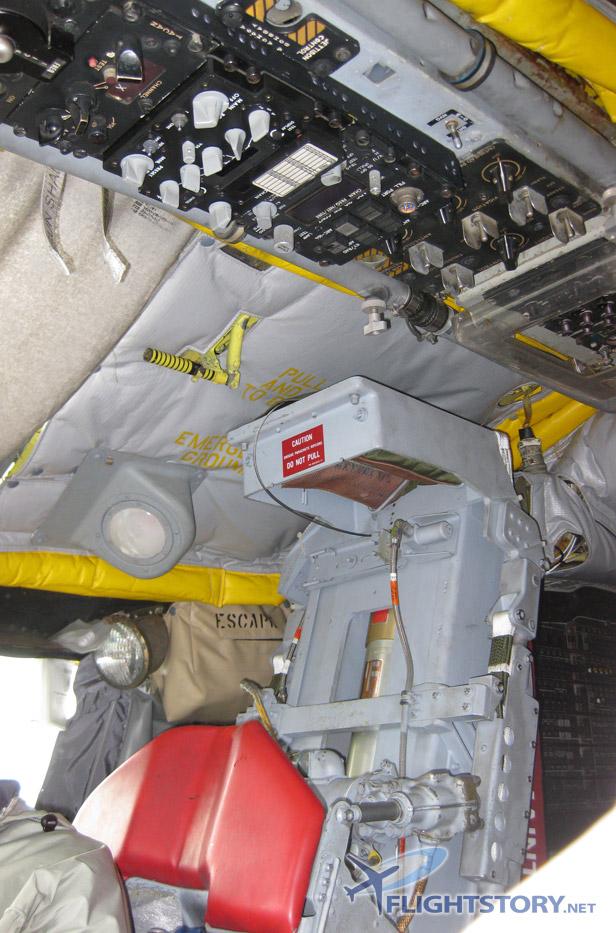 Boeing B-52 Stratofortress Cockpit Overhead Panel