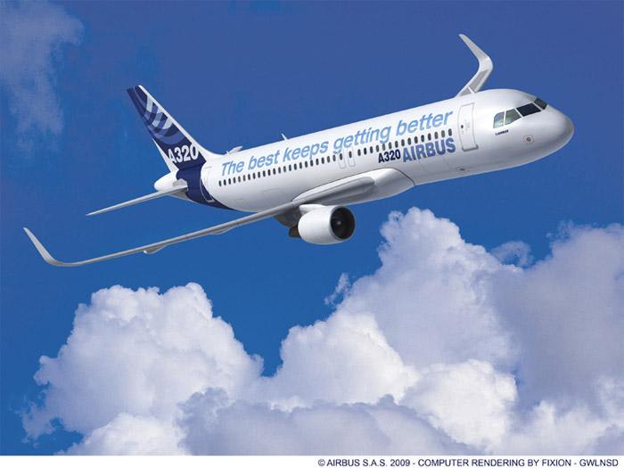 Airbus A320 Sharklet Wingtip