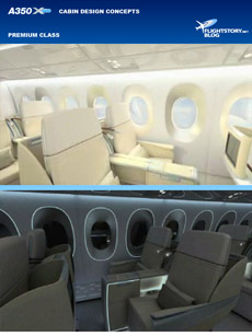 Airbus A350 XWB Cabin