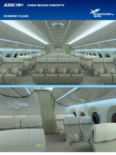 Airbus A350 XWB Cabin Design Concepts