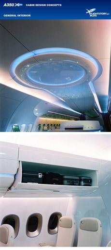 Airbus A350 XWB Design Concepts