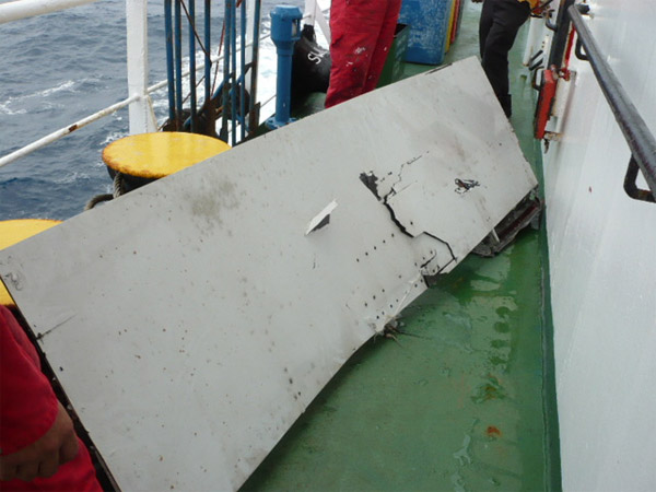 Air France flight 447 (AF447) Wreckage