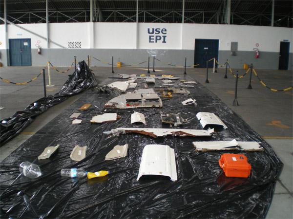 Wreckage - Air France flight 447 (AF447) Airbus A330-200 (F-GZCP / MSN: 660)