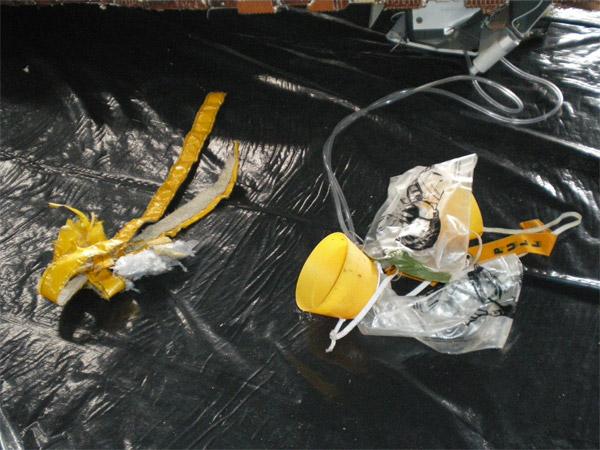 Oxygen Masks Wreckage - Air France flight 447 (AF447)