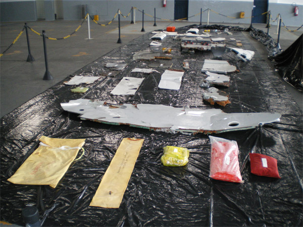 Wreckage AF447 Airbus A330-200 (F-GZCP)