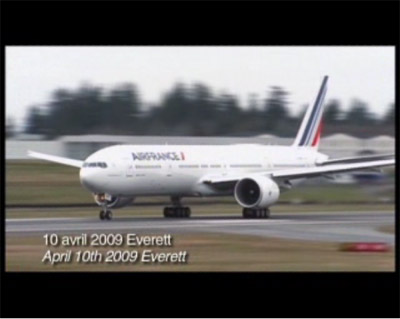 Video - Air France Boeing 777-300ER with New Livery