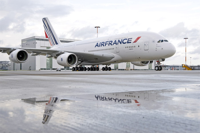 First Air France Airbus A380