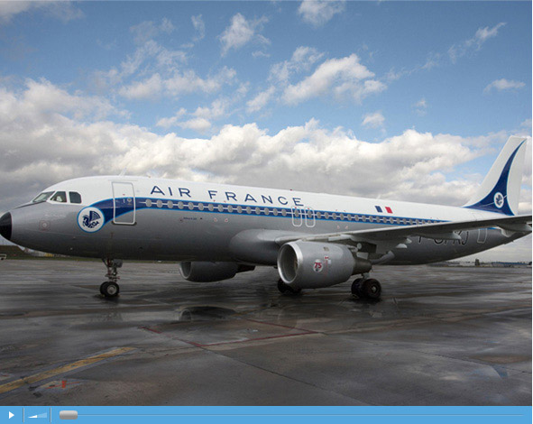 Air France 1946 Retro Livery - Airbus A320-211 F-GFKJ