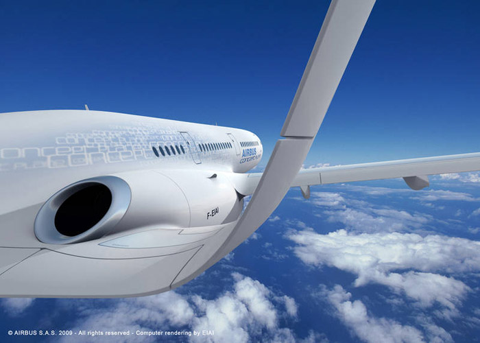 Airbus Concept Plane - The future of air transport in 2050
