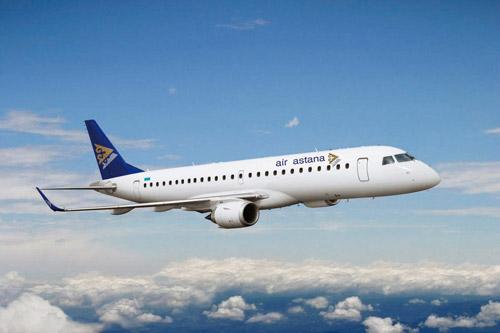 Air Astana EMBRAER 190