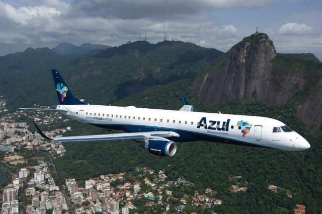 Azul Linhas Aereas Embraer 195