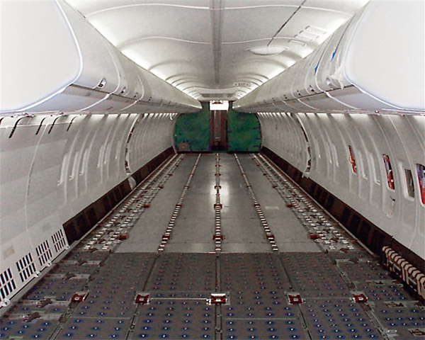 BBJ C - Boeing Business Jet Convertible - Cargo Hold