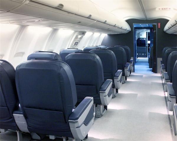 Boeing Business Jet Convertible (BBJ C) Passenger Cabin