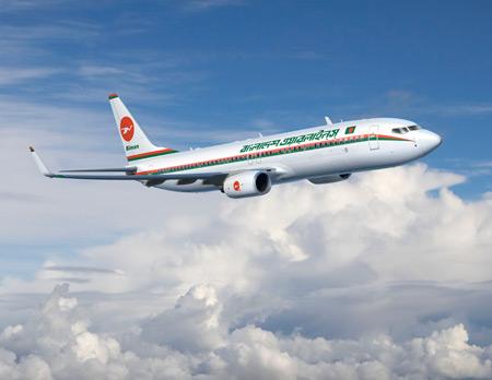 Biman Bangladesh Boeing 737-800