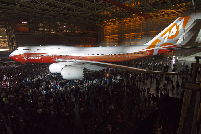 Boeing 747-8 Intercontinental Unveiled