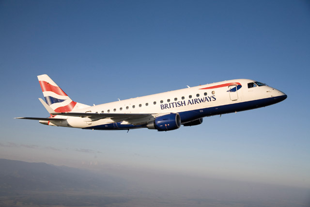 British Airways Embraer 170