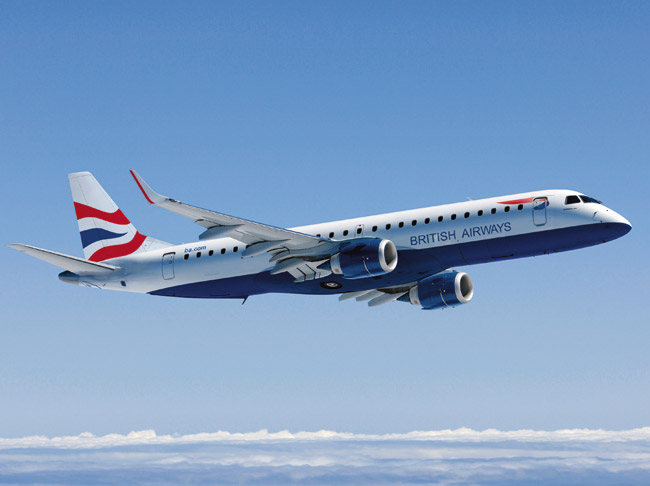 British Airways Embraer E190
