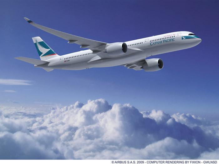 Cathay Pacific Airbus A350-900 XWB