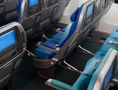 Cathay Pacific new Economy Class Seats