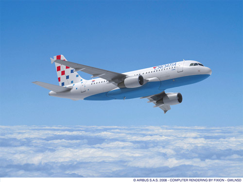 Croatia Airlines Airbus A319