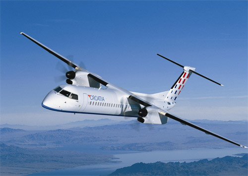 Croatia Airlines Bombardier Q400