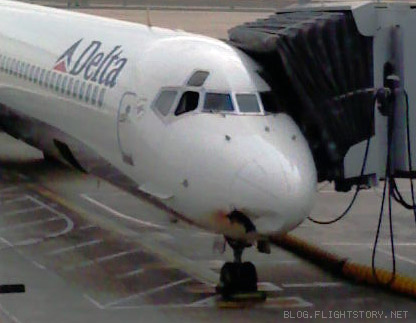 Delta Air Lines McDonnell Douglas MD-88 Bird Strike