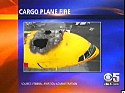 Pictures  on Video   Dhl 767 Damaged By Fire At Flightstory Net   Aviation Blog