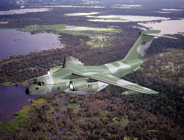 Embraer KC-390 Military Transport Jet