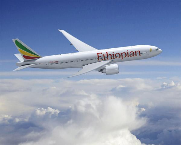 Ethiopian Airlines Boeing 777-200LR