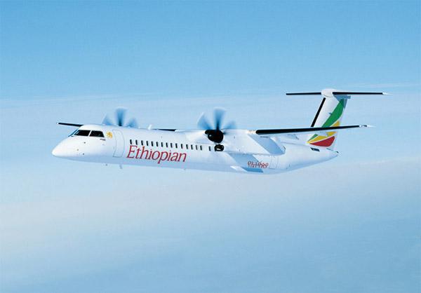 Ethiopian Airlines Bombardier Q400 NextGen