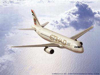 Etihad Airways Etihad_a320