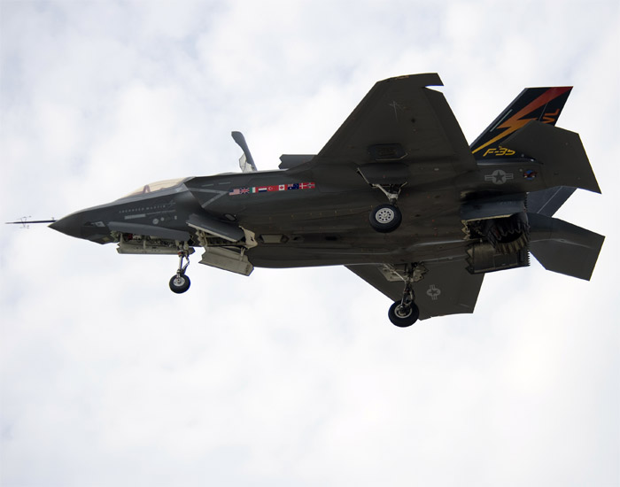 Lockheed Martin F-35B Lightning II STOVL Flight