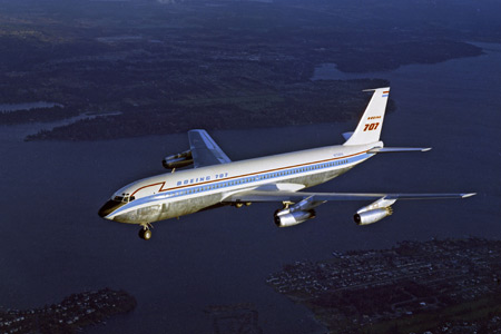Boeing 707 First Flight