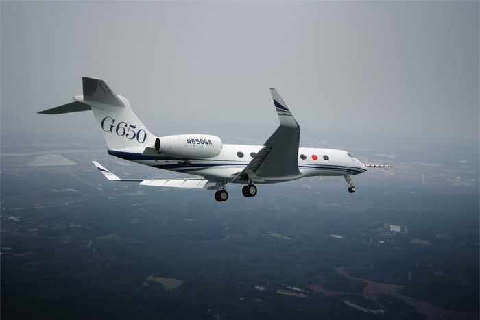 Gulfstream G650 First Flight