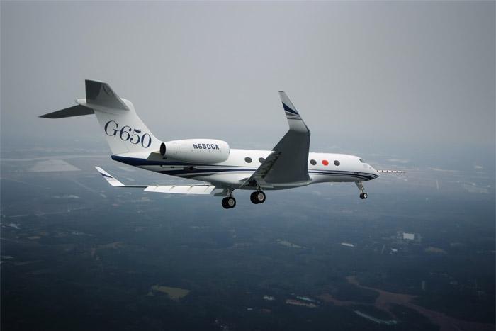 Gulfstream G650 First Flight
