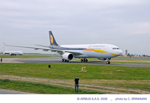 Jet Airways Airbus A330-200