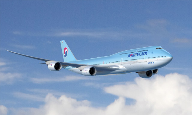 Korean Air Boeing 747-8 Intercontinental