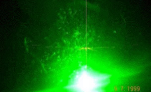 Aircraft Green Laser Pointer Distraction Glare